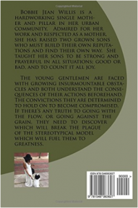 Twin Towers book cover (back)