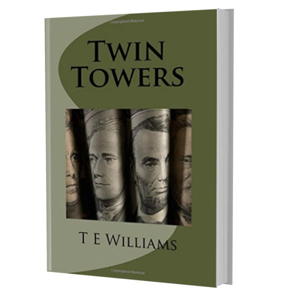 Twin Towers book cover mockup